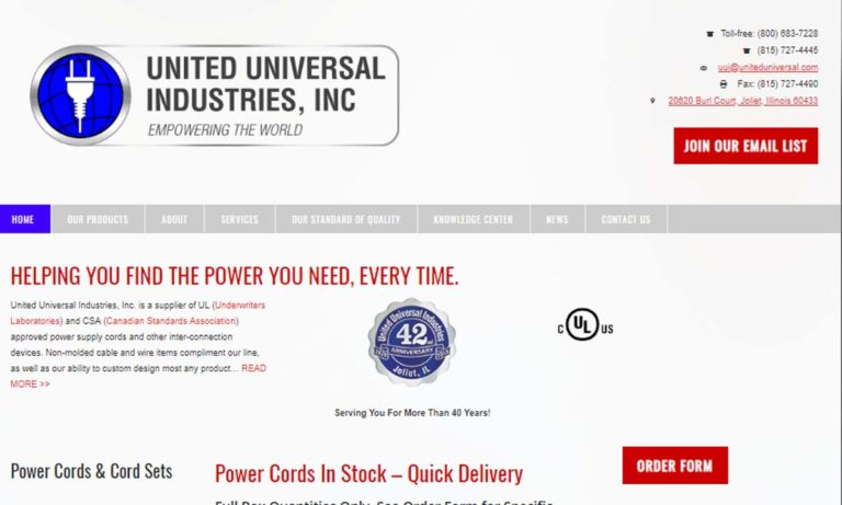 United Universal Industries, Inc.