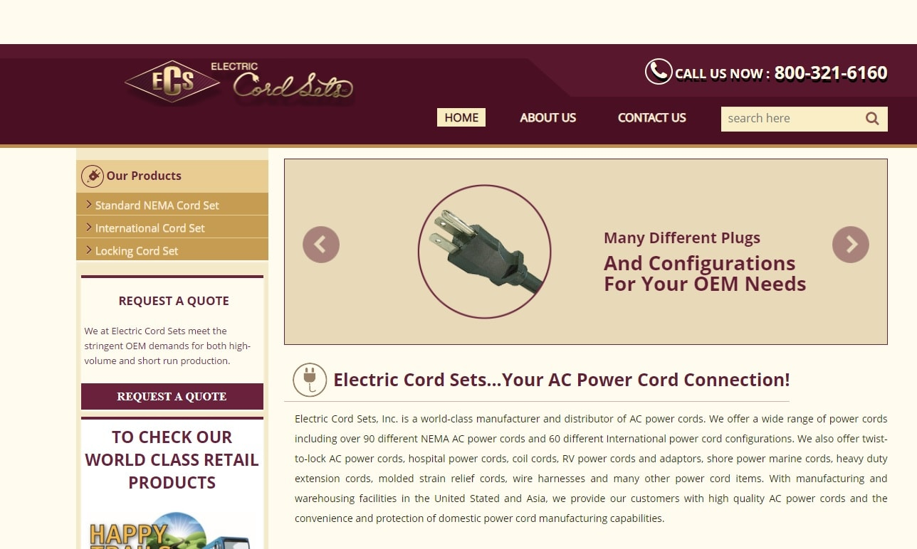 Electric Cord Sets, Inc.